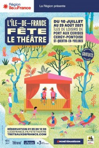 Lile de France fete le theatre 2021